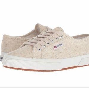 Superga 2750 Cotlinu Cotton Linen Blend Sneakers
